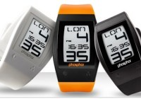 Phosphor World Time Sport E-ink Digital Watch