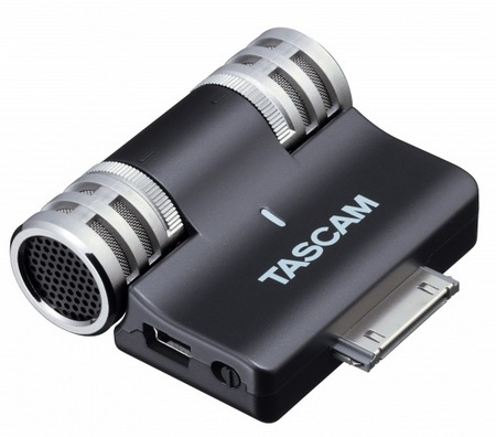 Tascam iM2 Stereo Microphone for iOS Devices 1