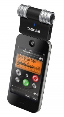Tascam iM2 Stereo Microphone for iOS Devices 2