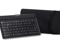 Verbatim Ultra-Slim Bluetooth Mobile Keyboard for Tablets with case