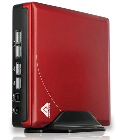 Apricorn Aegis NetDock Mac Edition USB ports