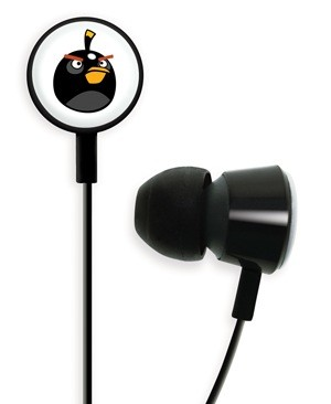 Gear4 Angry Birds Tweeters - the Official Angry Birds Headphones black bird