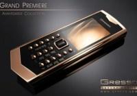 Gresso Avantgarde Grand Premiere Luxury Phone runs Symbian 1