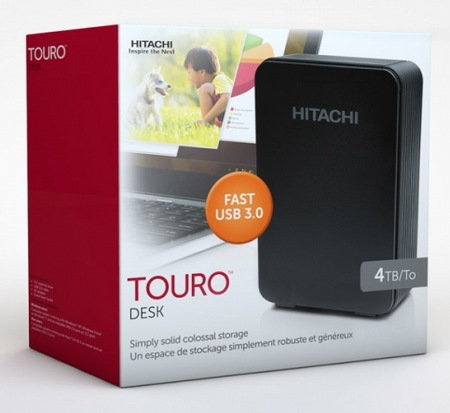Hitachi 4TB Touro Desk 4tb external hard drive