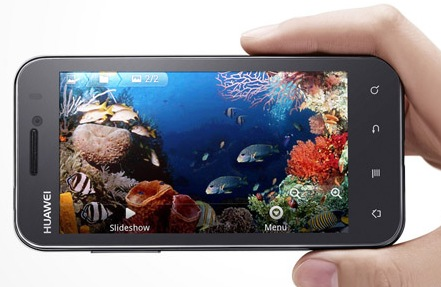 Huawei Honor U8860 Android Smartphone landscape