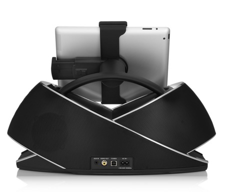 JBL OnBeat Extreme Speaker Dock for iOS Devices back