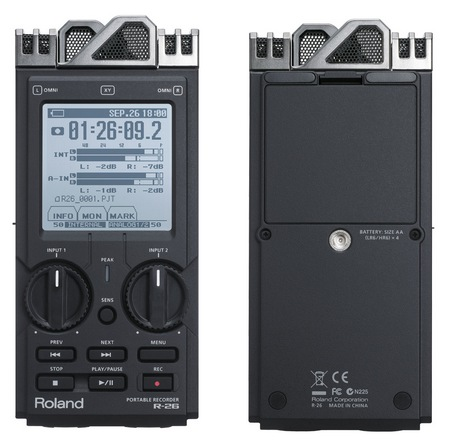 Roland R-26 Portable Audio Field Recorder 1