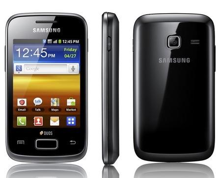 Samsung GALAXY Y DUOS Dual-SIM Android phone 1
