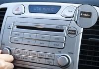 Verbatim Store n Go Car Audio USB Drive in dash