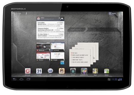 Verizon Motorola DROID XYBOARD 10.1 Android Honeycomb tablet 1