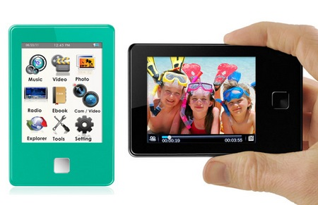 eMatic Prism-e8 portable media player