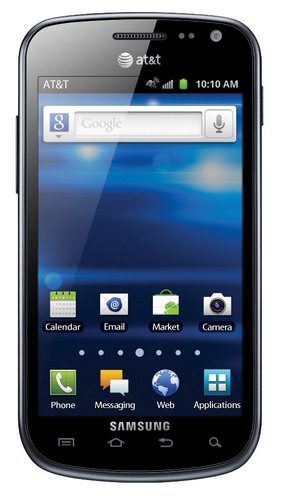 AT&T Samsung Exhilarate Eco-friendly 4G LTE Smartphone