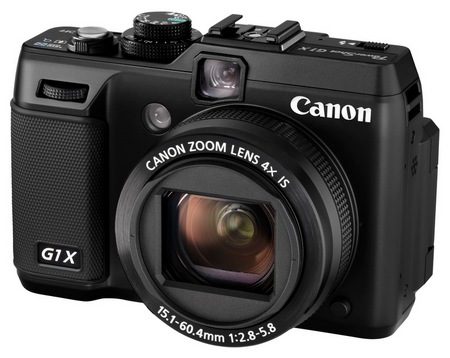 Canon PowerShot G1 X Prosumer Camera