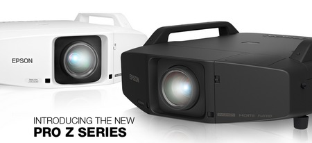 Epson PowerLite Pro Z-Series Installation Projector Line has 5 new models