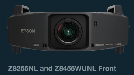 Epson PowerLite Pro Z8455WUNL and Z8255NL Installation Projectors