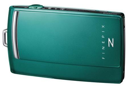 Fujifilm FinePix Z1000EXR Stylish Camera with WiFi green