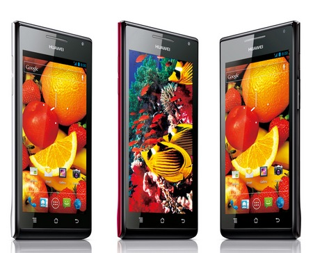 Huawei Ascend P1 S and Ascend P1 Ultra Thin Smartphones