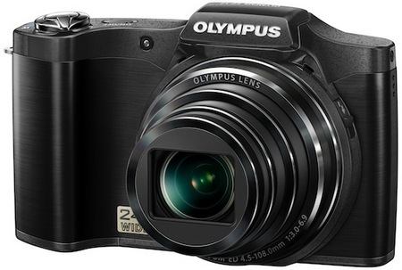 Olympus SZ-12 Compact Long Zoom Camera black