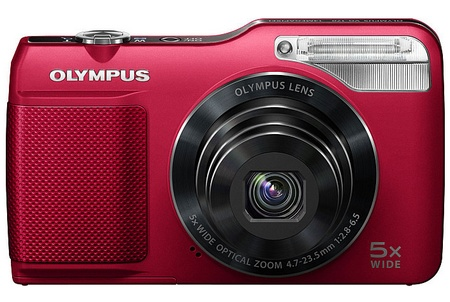 Olympus VG-170 Digital Camera RED