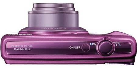 Olympus VR-340 Camera with 10x Optical Zoom top