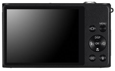 Samsung DualView DV300F Dual-screen Digital Camera with WiFi back