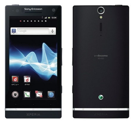 Sony Ericsson Xperia NX SO-02D Android Smartphone for NTT Docomo black