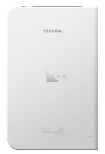 Toshiba BookPlace DB50 Color e-book Reader runs Android back