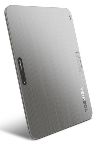 Toshiba Excite X10 - The World's Thinnest 10-inch Tablet back