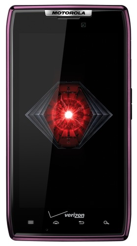 Verizon Motorola DROID RAZR in purple