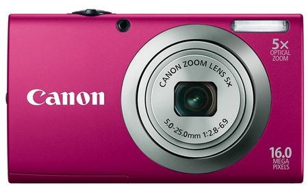 Canon PowerShot A2300 digital camera pink