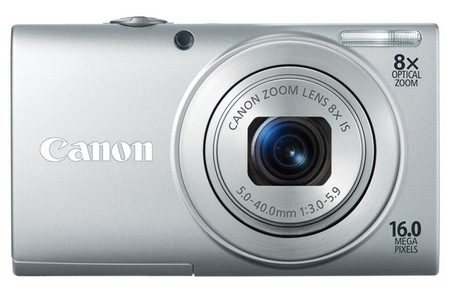 Canon PowerShot A4000 IS digital camera silver
