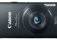 Canon PowerShot ELPH 320 HS Digital Camera black