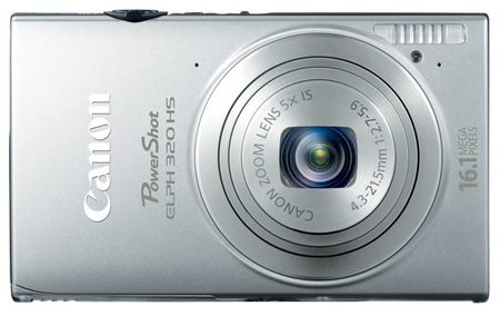 Canon PowerShot ELPH 320 HS Digital Camera silver