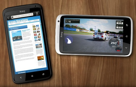 HTC One X Smartphone powered by Quad-core Tegra 3 web game