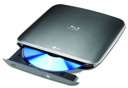 LG BP40NS20 Slim Portable Blu-ray Burner