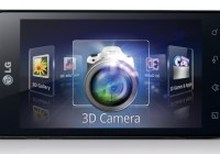 LG Optimus 3D MAX Android Smartphone with 3D Video Editing landscape