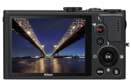 Nikon CoolPix P310 Compact Digital Camera back