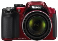 Nikon CoolPix P510 Camera does 42x Ultra Zoom red