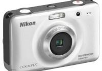 Nikon CoolPix S30 Rugged Digital Camera white