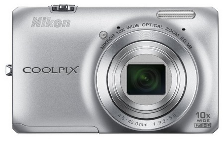 Nikon CoolPix S6300 Compact 10x Zoom Camera silver