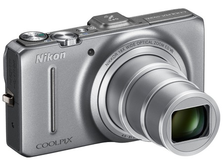 Nikon CoolPix S9300 Compact Long Zoom Camera with GPS silver
