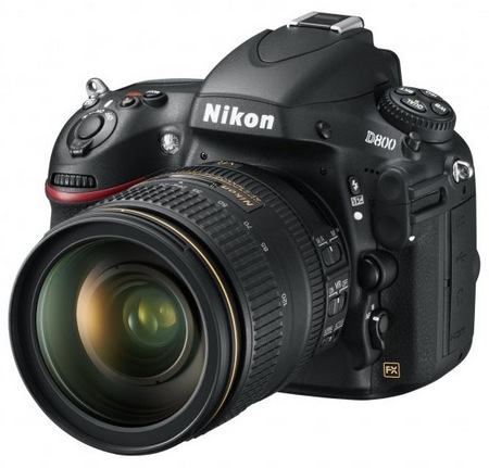 Nikon D800 and D800E 36.3 Megapixel FX-Format DSLRs angle 1