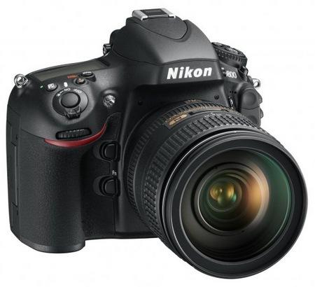 Nikon D800 and D800E 36.3 Megapixel FX-Format DSLRs angle