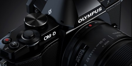 Olympus OM-D E-M5 Micro Four Thirds Camera control dial