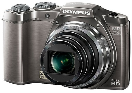 Olympus SZ-31MR iHS Camera with 24x Long Zoom angle