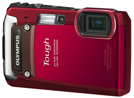 Olympus TOUGH TG-820 iHS Rugged Camera red