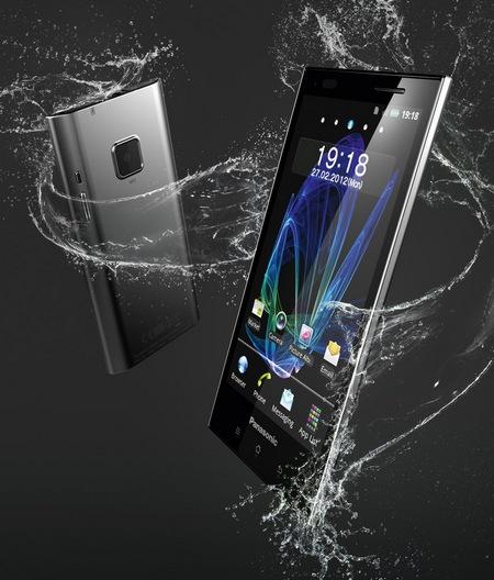 Panasonic ELUGA Waterproof Smartphone water