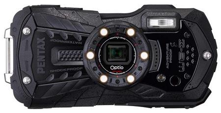 Pentax Optio WG-2 Rugged Digital Camera Black