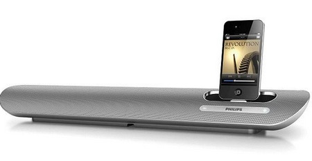 Philips DS6100 iPod iPhone Desktop Speaker Dock
