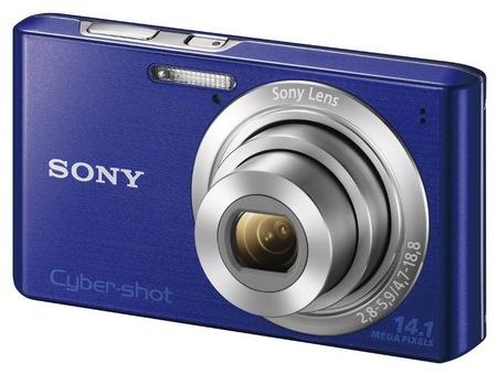 Sony Cyber-shot DSC-W610 digital camera blue